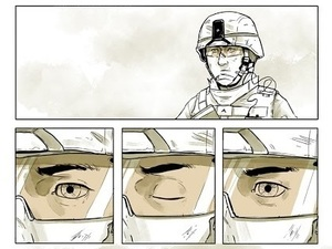 "Maximilian Uriarte wrote and illustrated The White Donkey, a graphic novel that highlights the tedium of deployment. ""I think you can get a lot more nuance, a lot more meaning out of a story that isn't based in some kind of grand battle,"" he says."