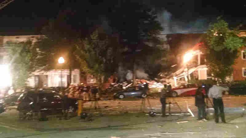 Massive Blast At Maryland Apartment Complex Kills At Least 2, Injures Dozens
