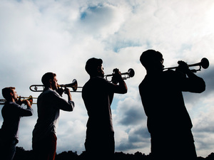 "The members of The Westerlies call themselves ""an accidental brass quartet."""