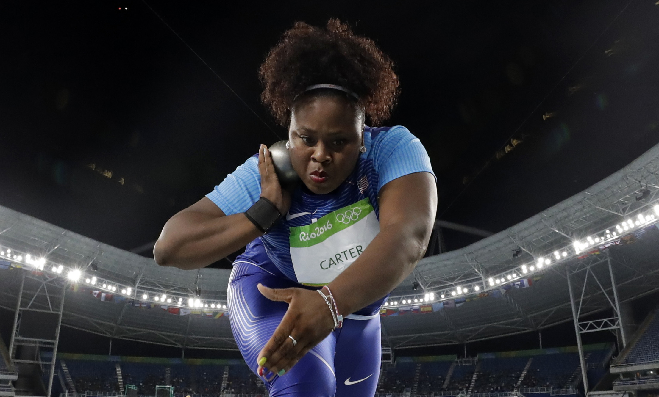 Olympic shot put women