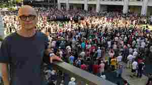 On The Steps Of Lincoln Center, A Choir The Size Of An Army