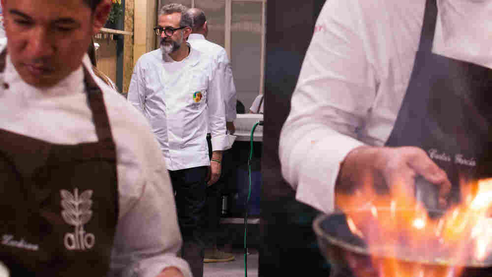 Master Chef Turns Leftovers Into Fine Dining For Brazil's Hungry