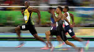 How An Olympics Photographer Captured Usain Bolt's 'Cheeky Grin'