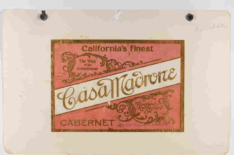 Maynard Amerine, a pioneer of wine-making and professor at the University of California, Davis, collected some 5,200 wine bottle labels during his travels from the 1930s-60s.