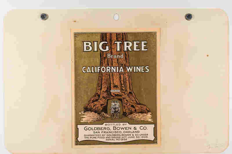 A label for Big Tree Brand California wines