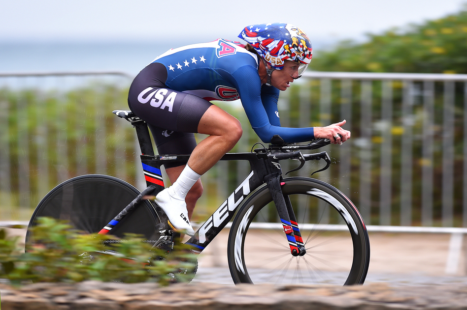 Kristin Armstrong won Olympic gold in the cycling time trial the day before she turned 43. (Tim de Waele/Corbis via Getty Images)