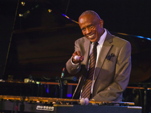 Bobby Hutcherson performs at the Monterey Jazz Festival, in Monterey, Calif. in 2013.