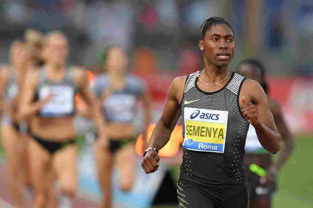 Caster Semenya And The Sensitive Question Of Intersex Athletes : The Torch : NPR