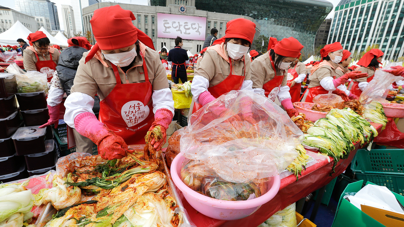 How South Korea Uses Kimchi To Connect To The World And Beyond