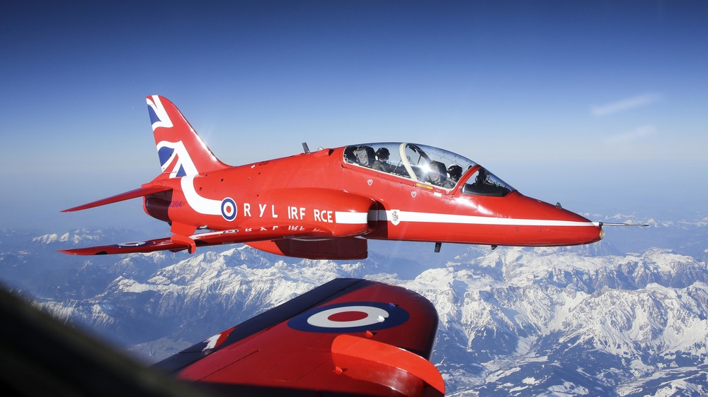 The Royal Air Force has lost its A's and O's in support of the NHS Blood and Transplant campaign Missing Type.