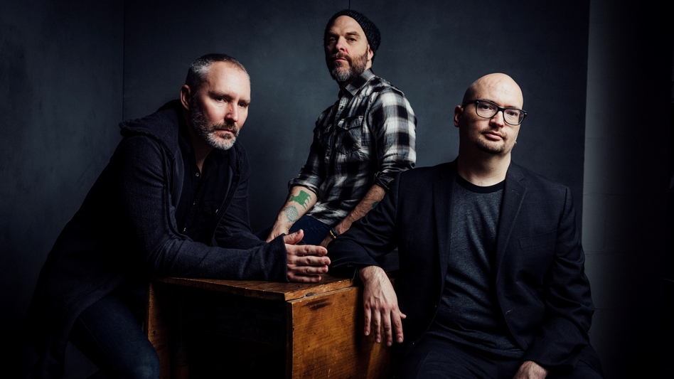 The Bad Plus' new album, It's Hard, comes out Aug. 26. (Courtesy of the artist)