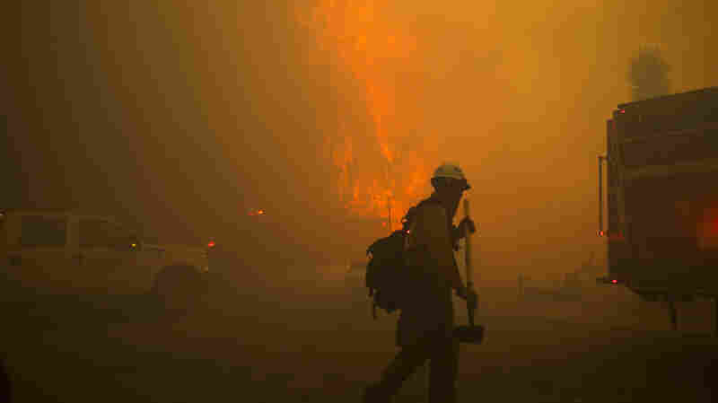 Out-Of-Control Southern California Brush Fire Forces 80,000 To Evacuate