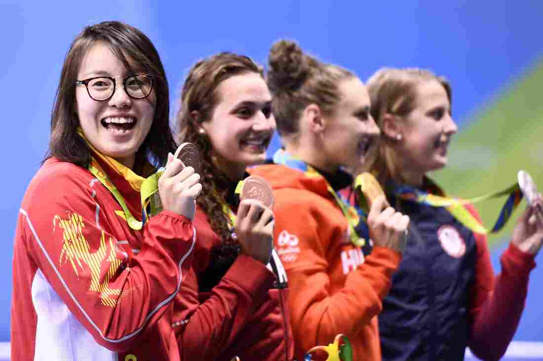 Chinese swimmer Fu Yuanhui breaks period taboo at Rio 2016