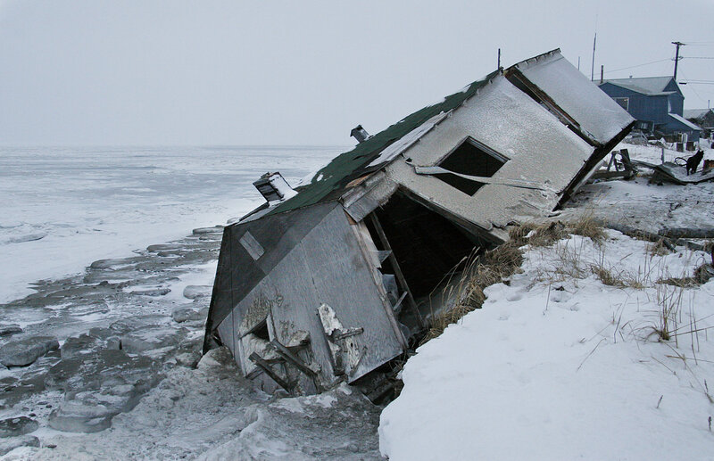 Threatened By Rising Seas, Alaska Village Decides To Relocate : The ...