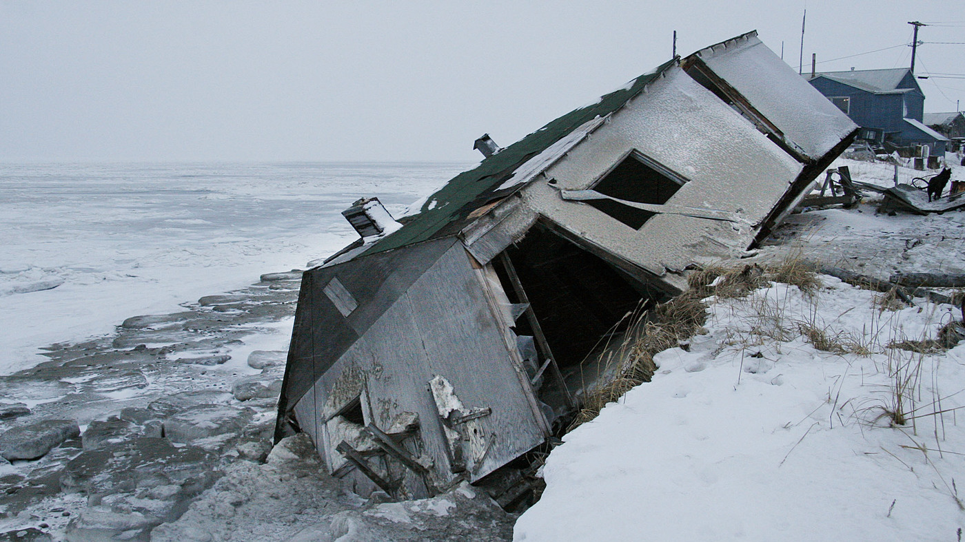 Threatened By Rising Seas, Alaska Village Decides To Relocate ...