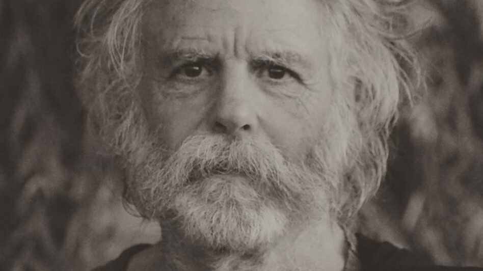 Bob Weir on the cover of Blue Mountain, his first album in 10 years. (Courtesy of the artist)