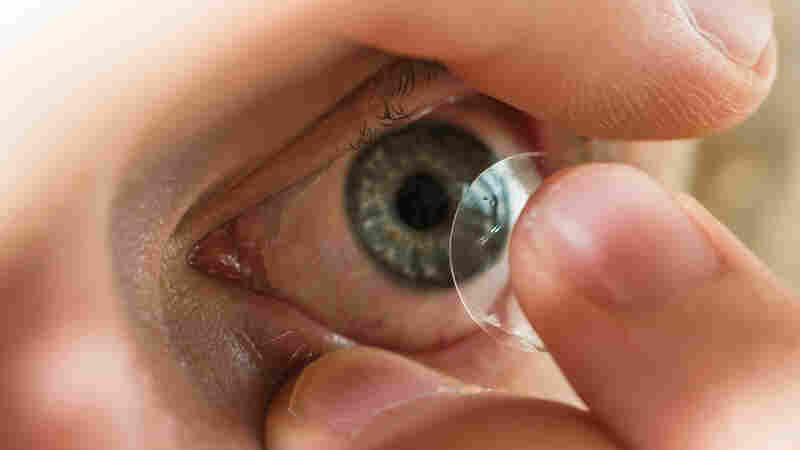 For Pete's Sake, Don't Sleep Or Swim In Your Contact Lenses