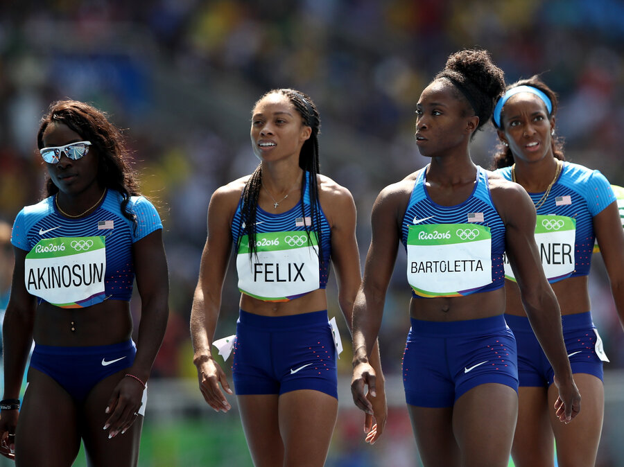On Appeal US Women Will Rerun Their 4x100Meter Relay Race The