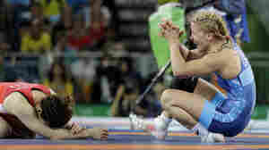 Helen Maroulis Takes First U.S. Gold In Women's Freestyle Wrestling