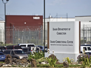 The Idaho Correctional Center south of Boise, Idaho, is a contract facility operated by Corrections Corporation of America. The Justice Department says it is phasing out its relationships with private prisons after a recent audit found they have more safety and security problems than ones run by the government.