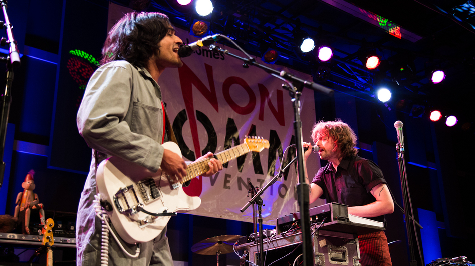 Yeasayer performs live at the 2016 Non-COMMvention in Philadelphia. (WXPN)