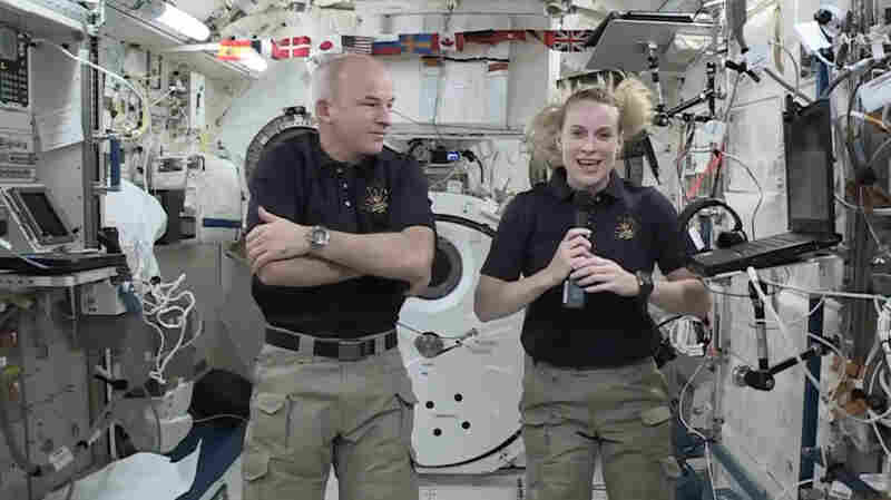 300 Miles Above Us, Astronauts Give The Space Station A New Door