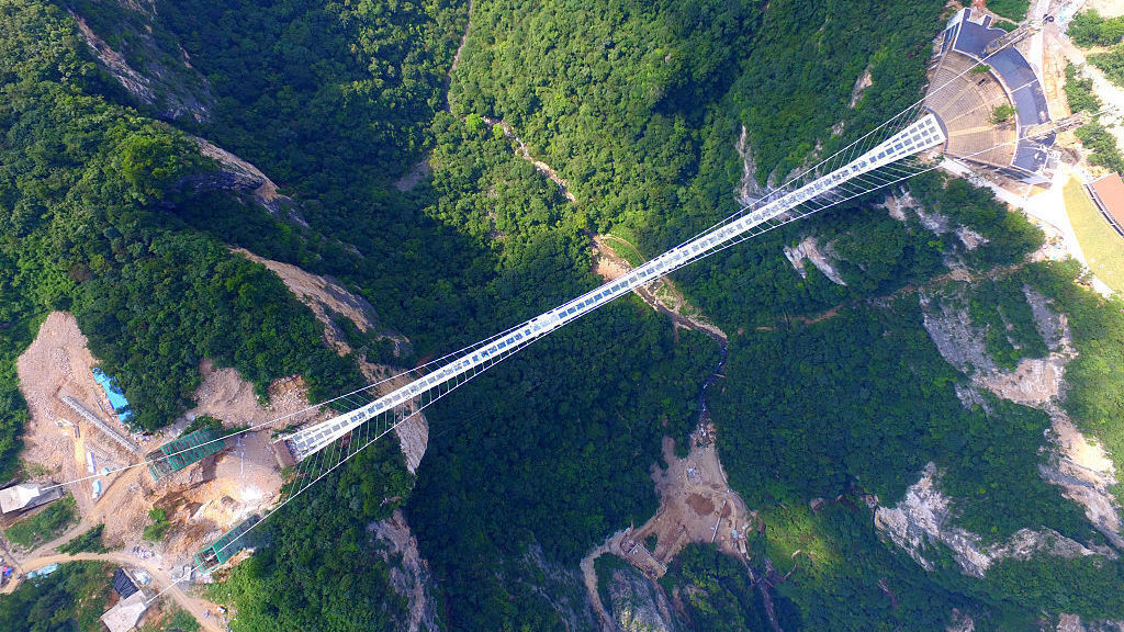 photos welcome to the worlds highest and longest glass bottomed bridge the two way npr - Zhangjiajie Glass Bridge