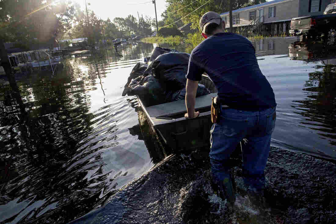 Louisiana Takes Stock Of The Damage After Devastating ...