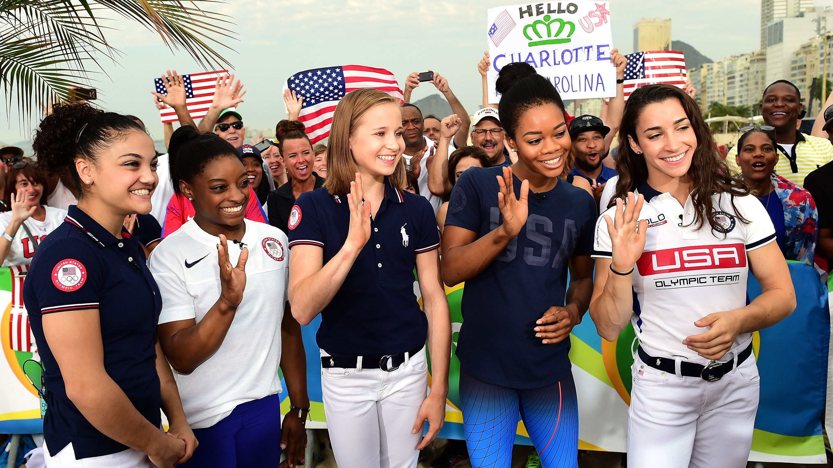 Simone Biles: 'Excited' To Carry Flag, A Little Worried About Its Size