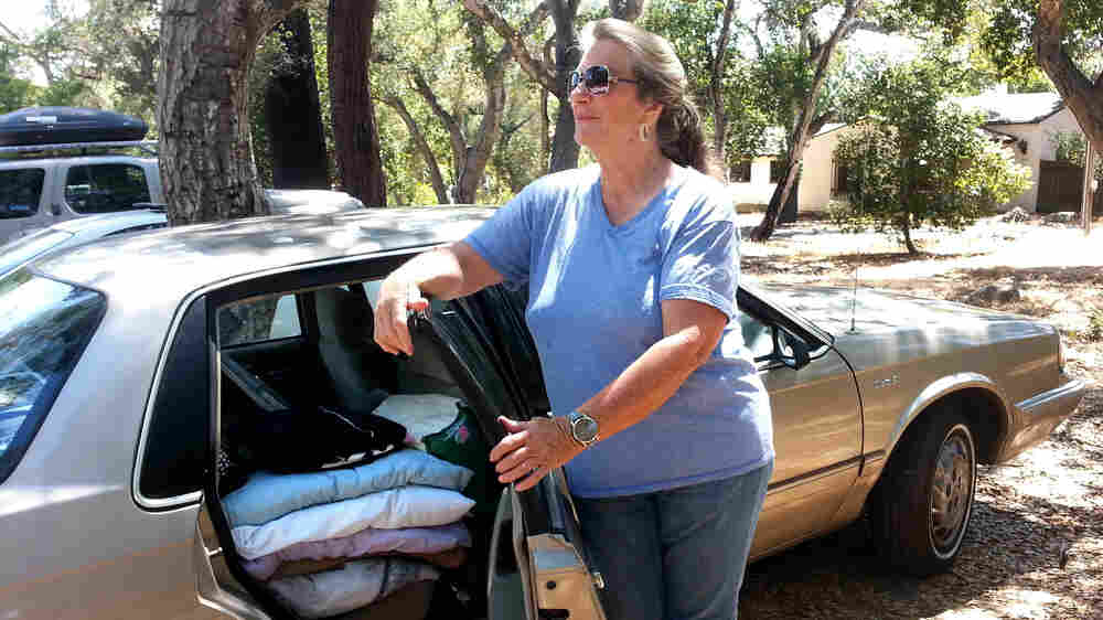 For Some Seniors Without Housing, A Parking Lot Is Home