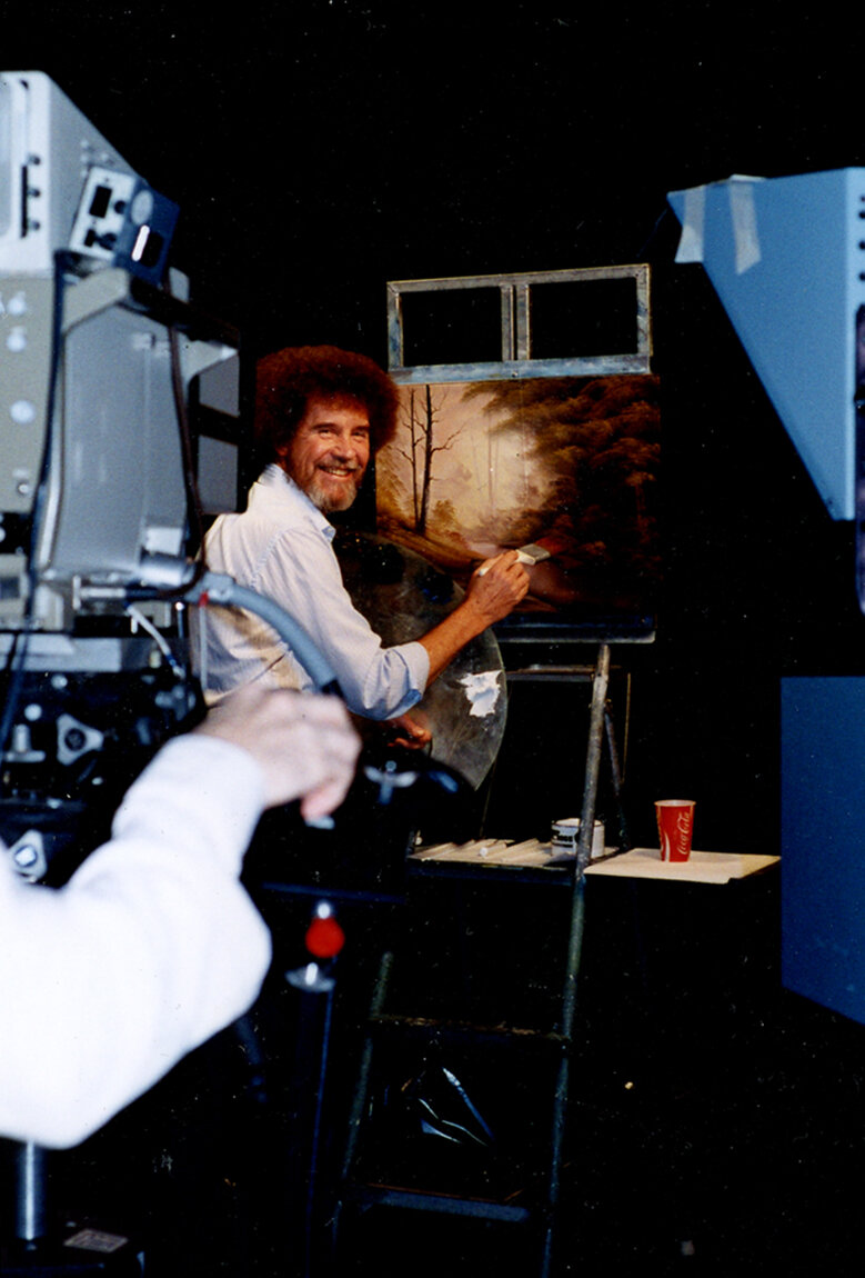 Angry Painter 2016 the real bob ross: meet the meticulous artist behind those