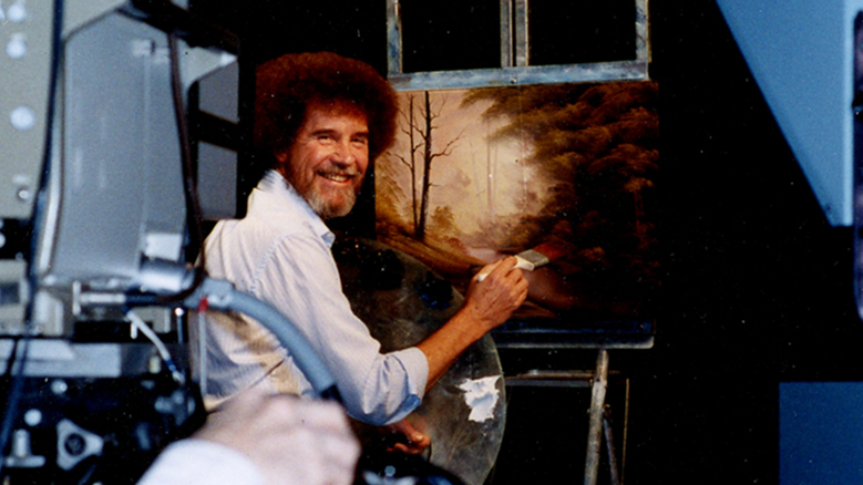 The Real Bob Ross Meet The Meticulous Artist Behind Those Happy Trees Npr