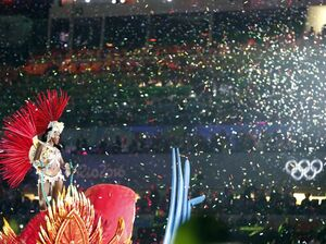 The closing ceremony of the Rio Games on Sunday gave the city one last chance to party at the Olympics.