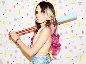 Speedy Ortiz's Sadie Dupuis goes solo as Sad13 with Slugger.