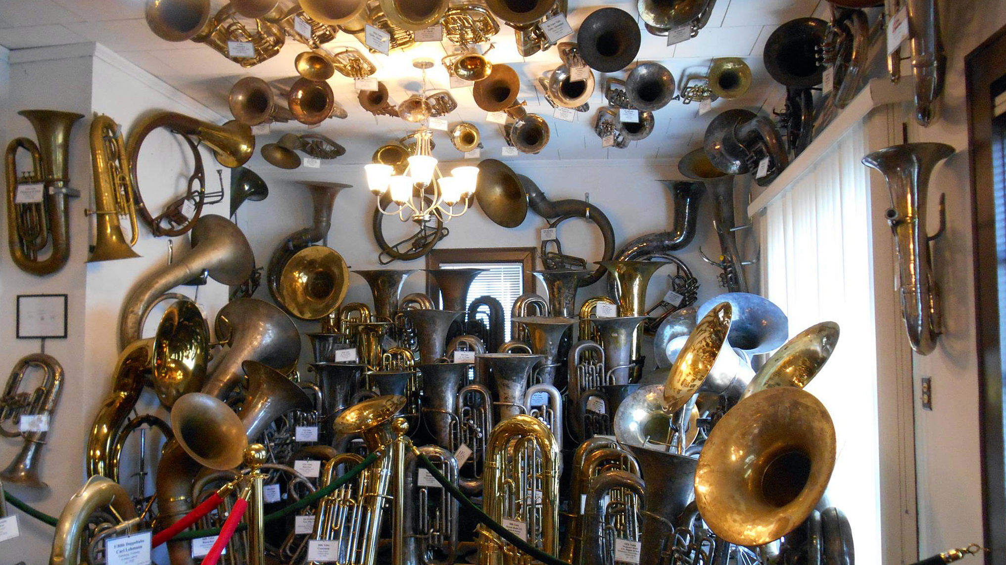 A Museum With Nearly 300 Brass Horns