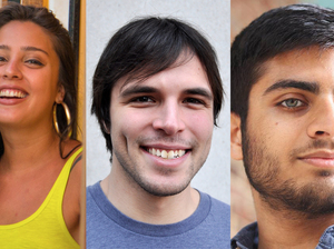 Jessica Diaz-Hurtado, Stephan Bisaha and Parth Shah will begin their fellowship with NPR in September 2016.