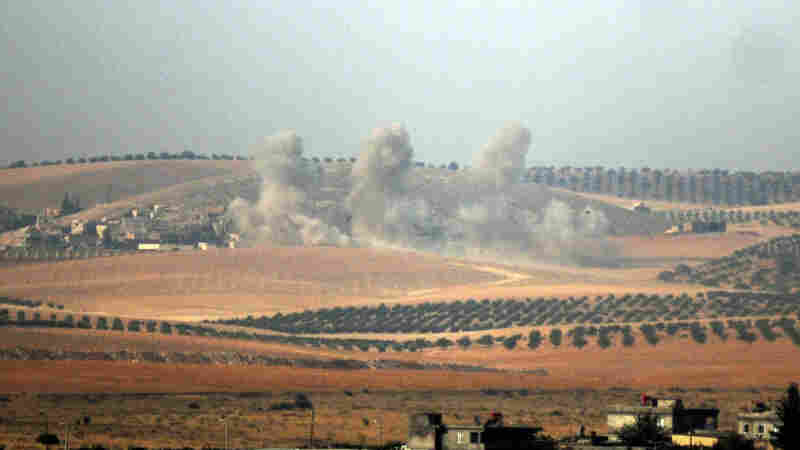 Turkey Launches Airstrikes, Artillery Fire In Cross-Border Incursion Into Syria