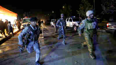 American University Of Afghanistan Says It Is Under Attack In Kabul