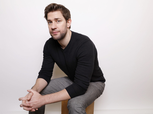 """Actor John Krasinski spent 2 1/2 years in New York trying to get his acting career off the ground. After landing a few commercials and some """"off- off- off-Broadway"""" plays, he was about to call it quits. But his mother encouraged him to stick it out a little while longer, and three weeks later, he landed the role of Jim on The Office."""