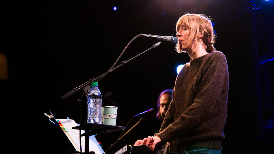 Beth Orton performs live for World Cafe. (WXPN)