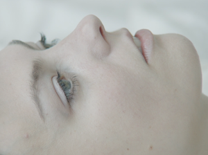 "Angel Olsen, in a scene from a video for her song ""Sister."""