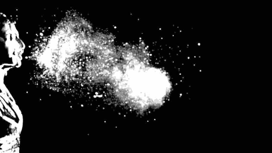 Watch: A Slow-Motion Sneeze Looks A Lot Like Breathing Fire