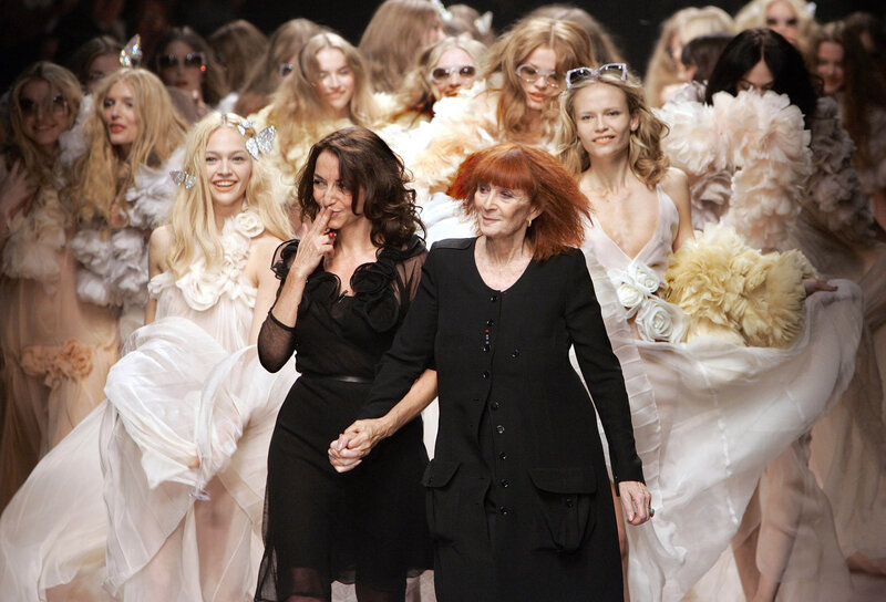 4694bcc00eb Sonia Rykiel, Designer Known As The 'Queen Of Knitwear,' Dies : The ...