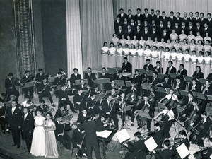 In 1959, Beethoven's Ninth Symphony was performed for the first time by an all-Chinese orchestra and sung in Mandarin.