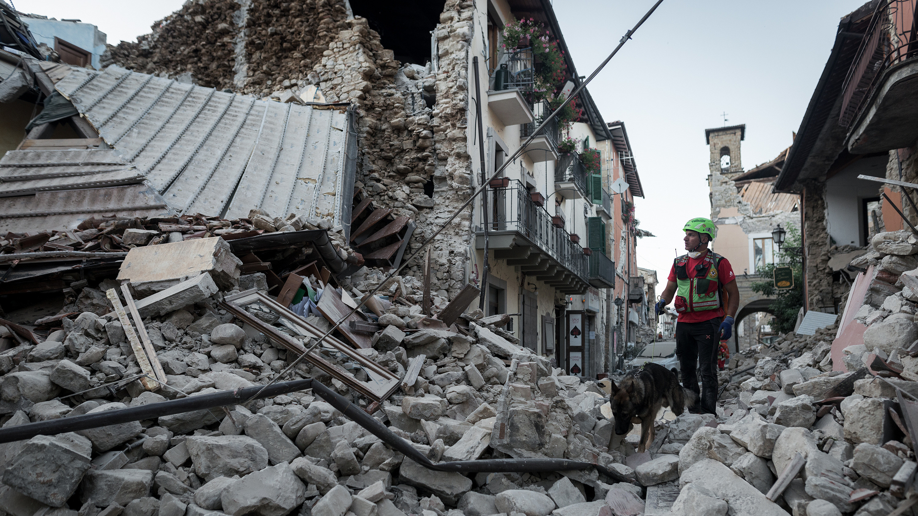 Rescue Crews Race To Find Survivors In Rubble Of Quake-Hit Italian Towns