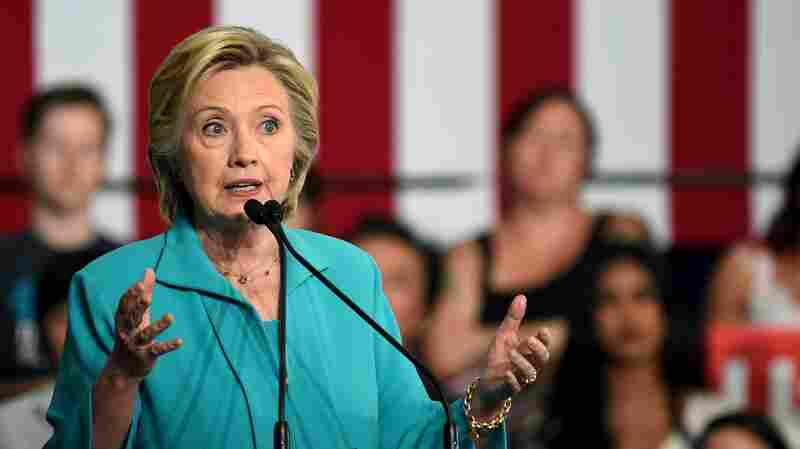 Clinton: Trump Is 'Taking Hate Groups Mainstream'