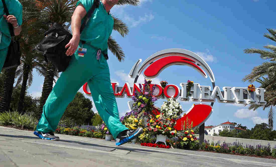 Orlando Hospitals Say They Won't Bill Victims Of Pulse Nightclub Shooting - NPR