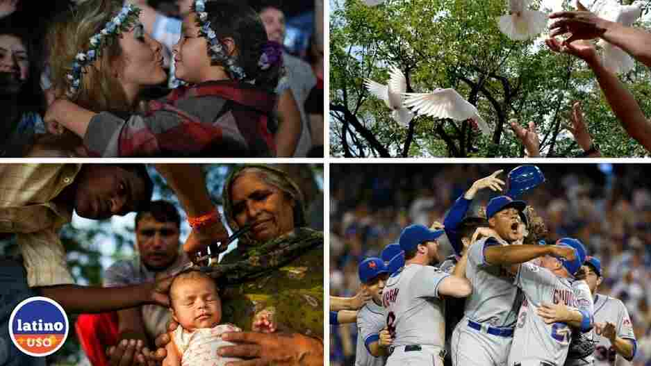 Images (L-R clockwise) YASUYOSHI CHIBA/AFP/Getty Images, Takashi Aoyama/Getty Images, Sean M. Haffey/Staff, Andrew Caballero-Reynolds/AFP/Getty Images