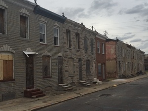 North Bradford Street, Baltimore, MD.