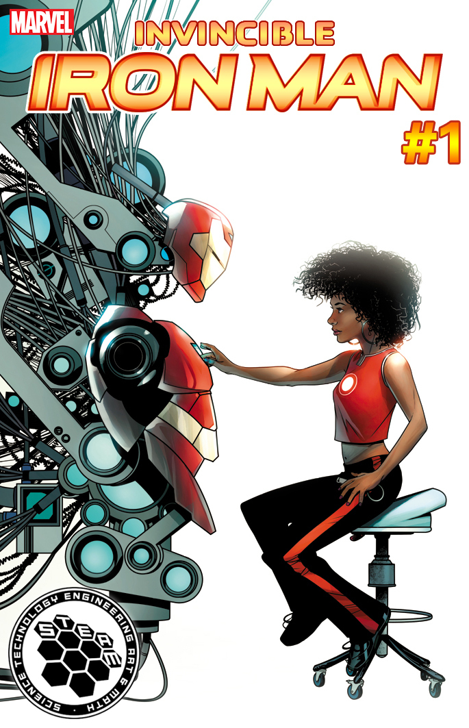 A Hero For The Arts And Sciences: Upcoming Marvel Covers Promote STEAM Fields